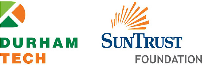 durham tech logo and suntrust logo