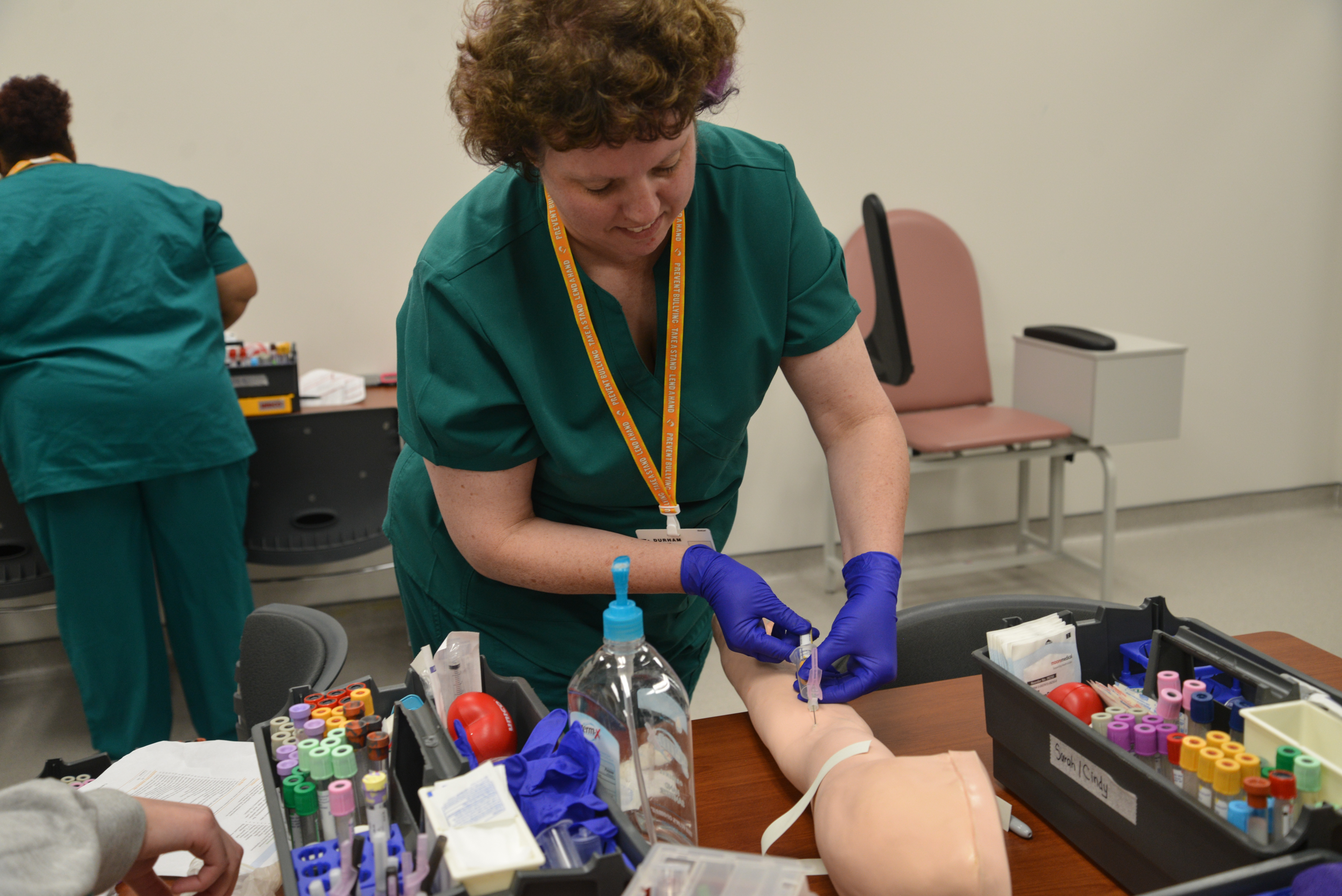 Phlebotomy Continuing Education Program Durham Technical Community
