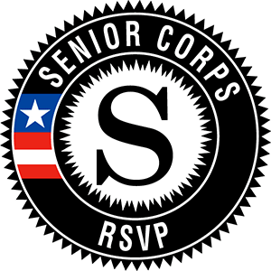 Logo with Senior Corps RSVP