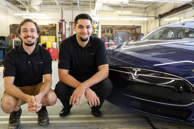 Switching Gears: From Durham Tech to Tesla, two automotive students