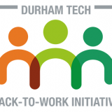 Durham Tech Back-to-Work Initiative logo